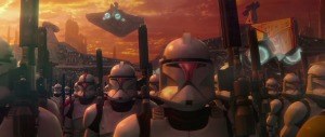 Clones in 'The Attack of the Clones'