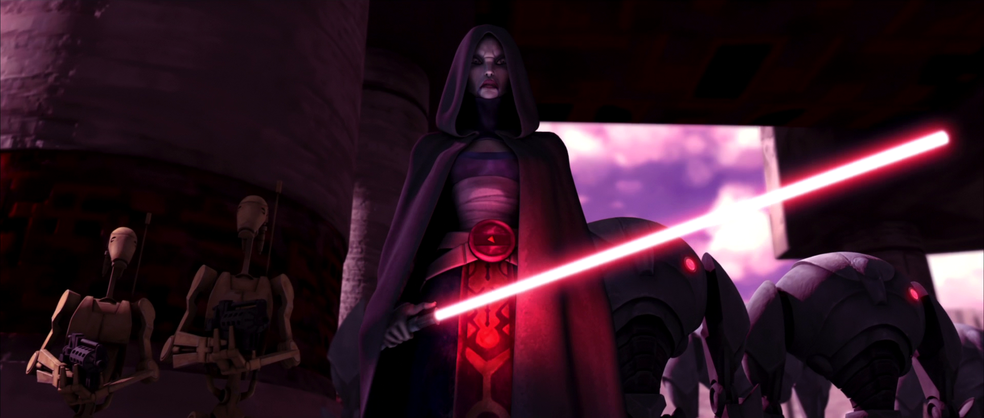 Asajj Ventress on Teth - starwars.wikia.com