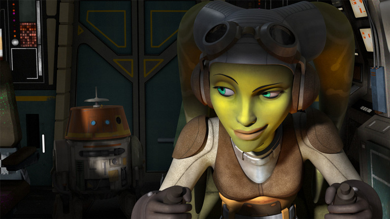 Hera Syndulla in SW: Rebels