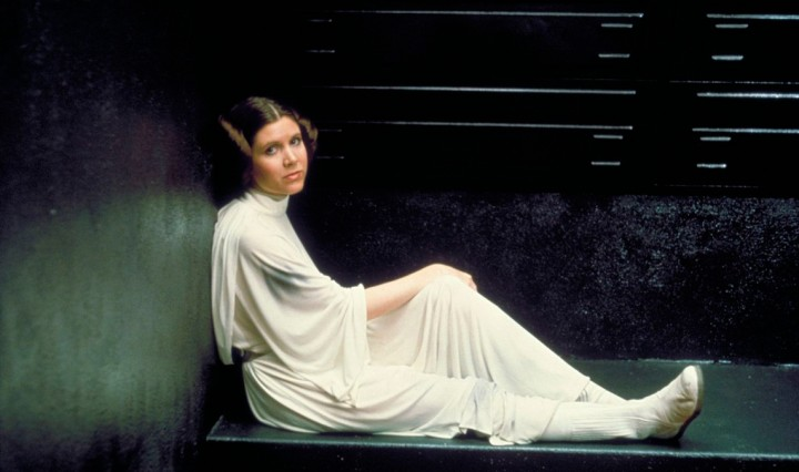 Leia abord the Death Star
