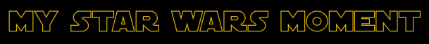 My SW Moment Banner