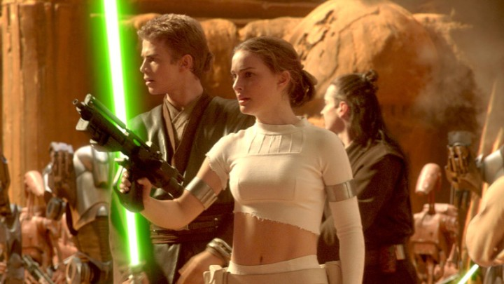 Padme during the Battle of Geonisis