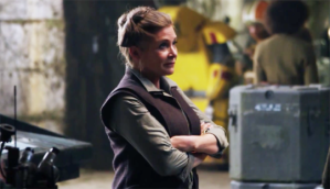 Princess Leia in TFA