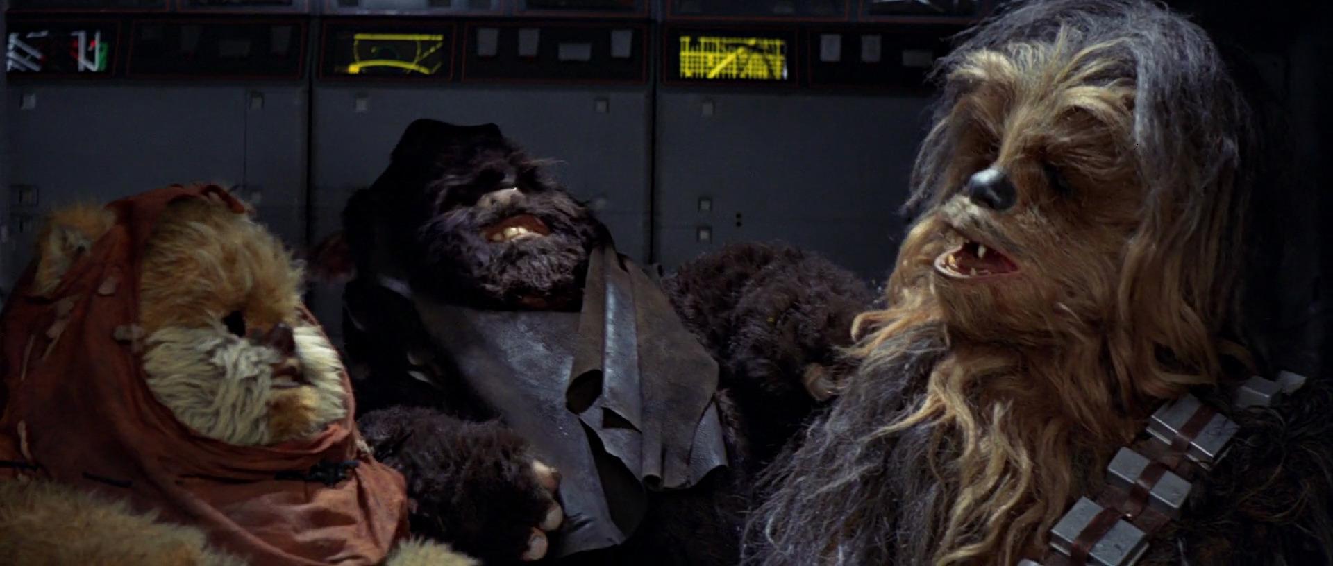 Ewoks and Wookie