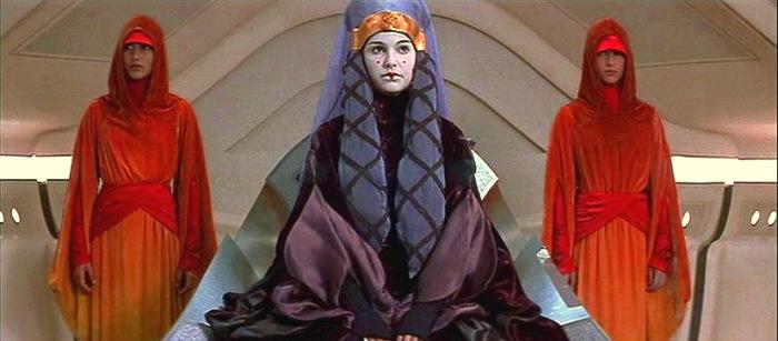 amidala Queen handmaidens padme