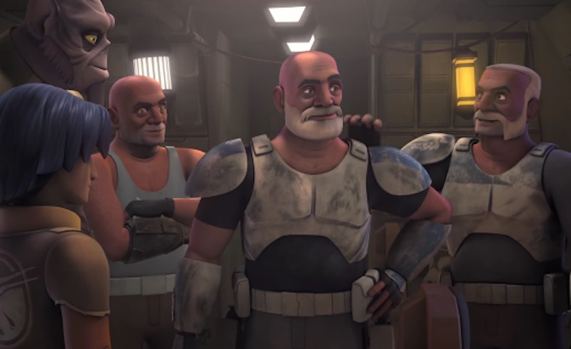 Star Wars Rebels Season 2 Episode 3 Relics of the Old