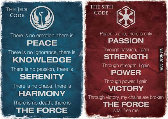 The-Jedi-Code-And-The-Sith-Code